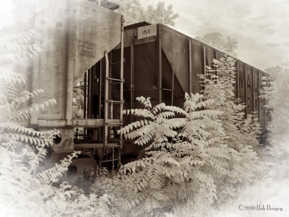 Railroad Cars on Siding in Perkasie